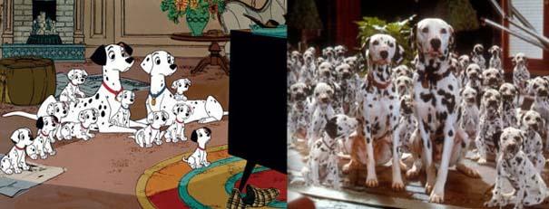 Διάσημα ζώα της Disney στην πραγματικότητα (6)