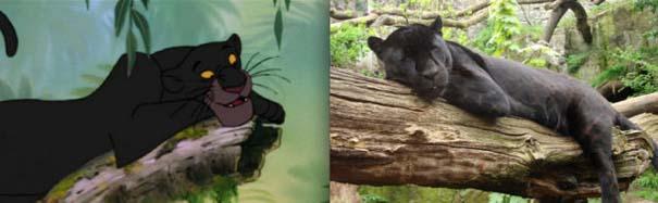 Διάσημα ζώα της Disney στην πραγματικότητα (8)