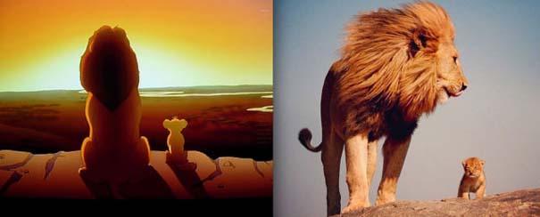 Διάσημα ζώα της Disney στην πραγματικότητα (14)