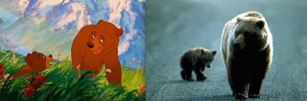 Διάσημα ζώα της Disney στην πραγματικότητα (18)