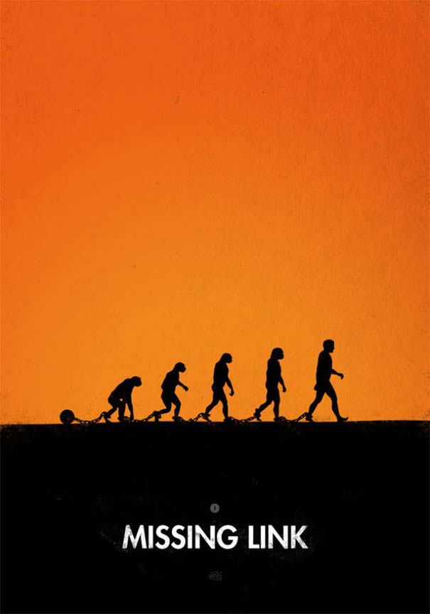 Η διάσημη εικόνα της ανθρώπινης εξέλιξης σε διαφορετικές εκδοχές (13)