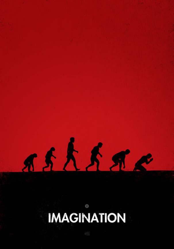 Η διάσημη εικόνα της ανθρώπινης εξέλιξης σε διαφορετικές εκδοχές (14)