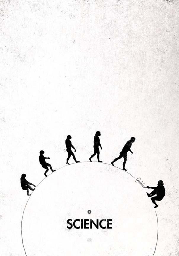 Η διάσημη εικόνα της ανθρώπινης εξέλιξης σε διαφορετικές εκδοχές (15)