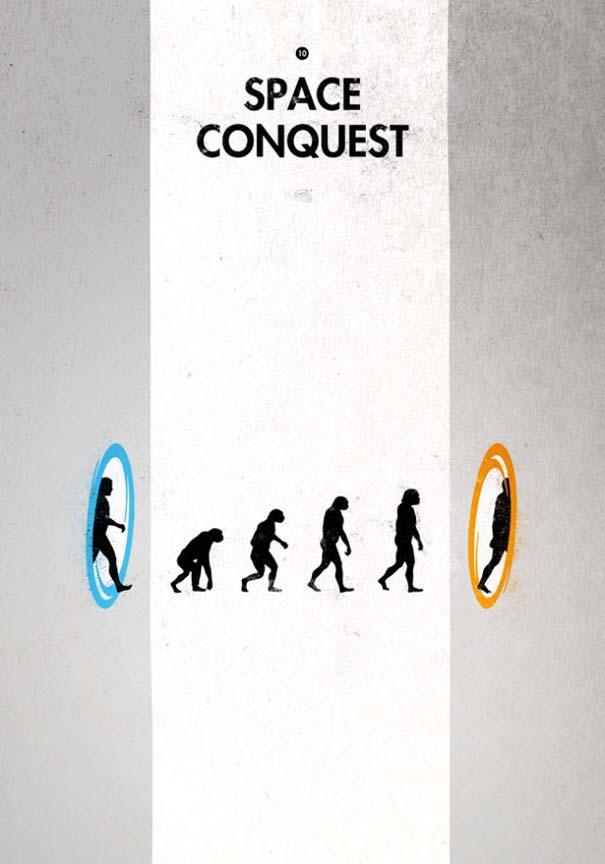 Η διάσημη εικόνα της ανθρώπινης εξέλιξης σε διαφορετικές εκδοχές (19)