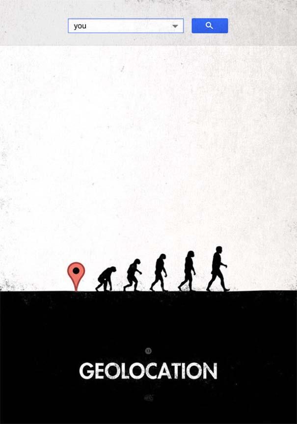 Η διάσημη εικόνα της ανθρώπινης εξέλιξης σε διαφορετικές εκδοχές (22)