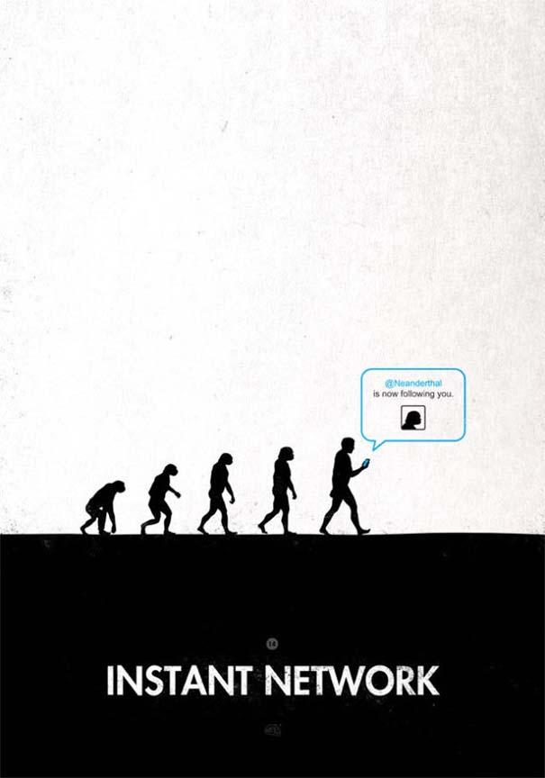 Η διάσημη εικόνα της ανθρώπινης εξέλιξης σε διαφορετικές εκδοχές (23)