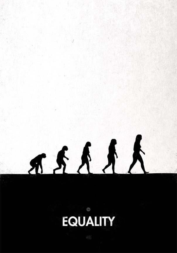 Η διάσημη εικόνα της ανθρώπινης εξέλιξης σε διαφορετικές εκδοχές (24)