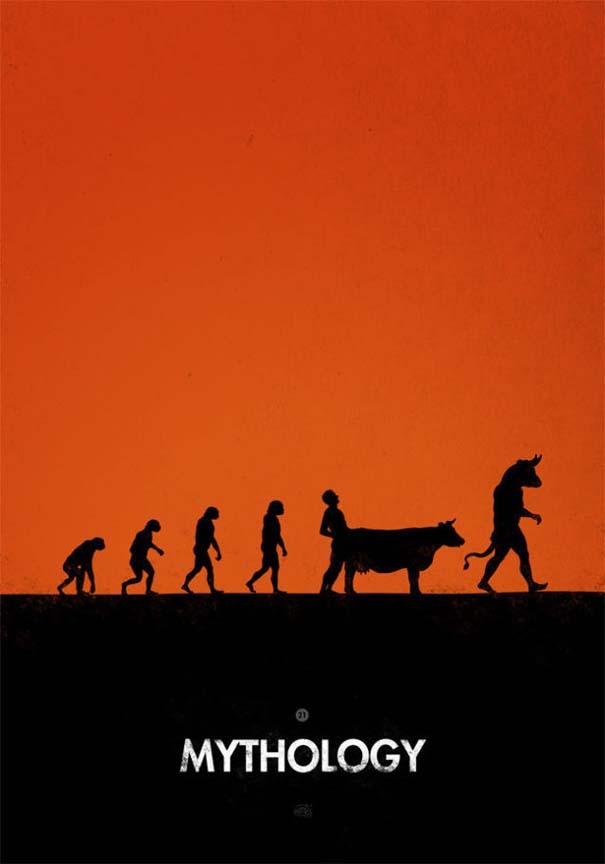 Η διάσημη εικόνα της ανθρώπινης εξέλιξης σε διαφορετικές εκδοχές (27)