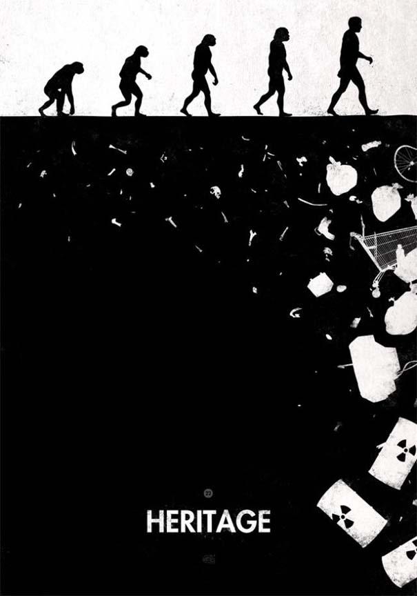 Η διάσημη εικόνα της ανθρώπινης εξέλιξης σε διαφορετικές εκδοχές (28)