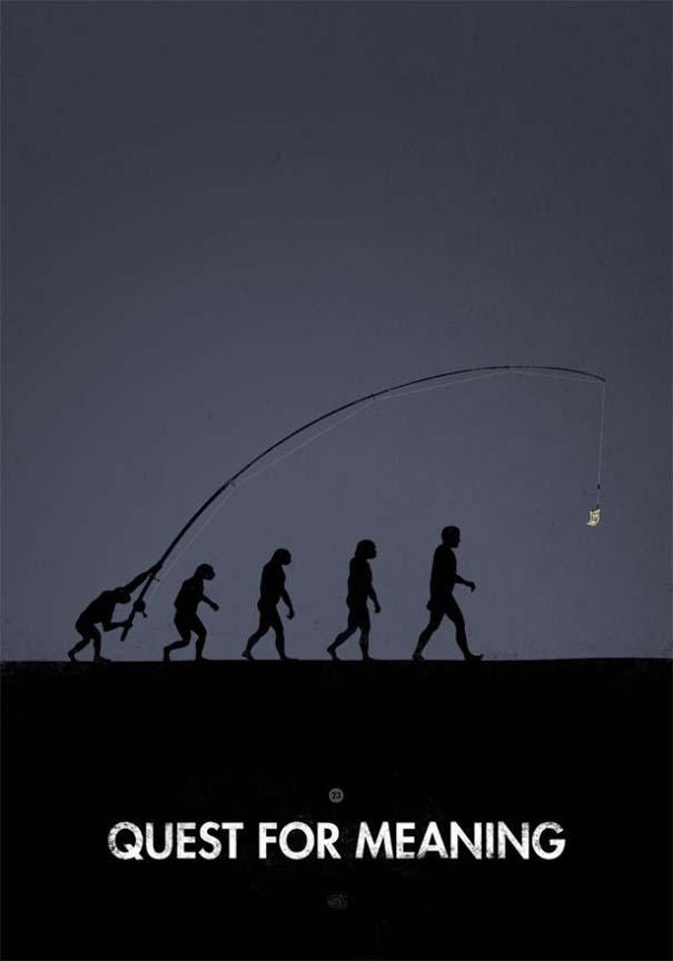 Η διάσημη εικόνα της ανθρώπινης εξέλιξης σε διαφορετικές εκδοχές (29)