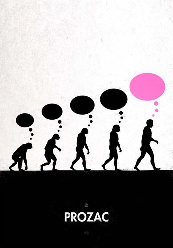 Η διάσημη εικόνα της ανθρώπινης εξέλιξης σε διαφορετικές εκδοχές (33)