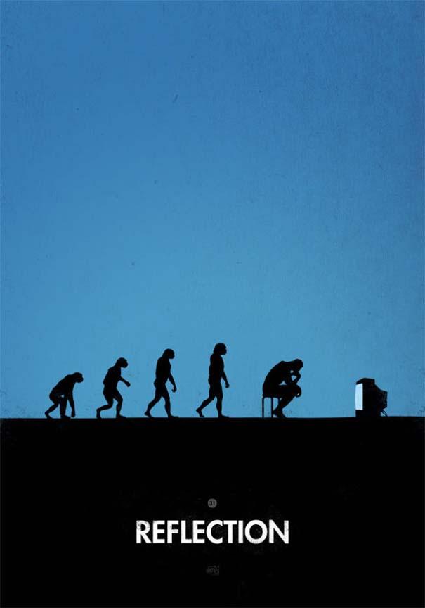 Η διάσημη εικόνα της ανθρώπινης εξέλιξης σε διαφορετικές εκδοχές (34)