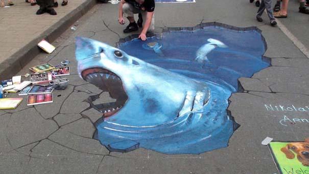 Εκπληκτική 3D τέχνη του δρόμου από τον Nikolaj Arndt (1)