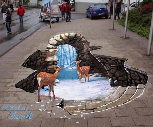 Εκπληκτική 3D τέχνη του δρόμου από τον Nikolaj Arndt (5)