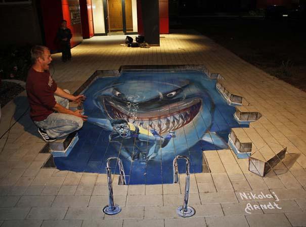 Εκπληκτική 3D τέχνη του δρόμου από τον Nikolaj Arndt (11)