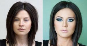 Γυναίκες με / χωρίς μακιγιάζ #15