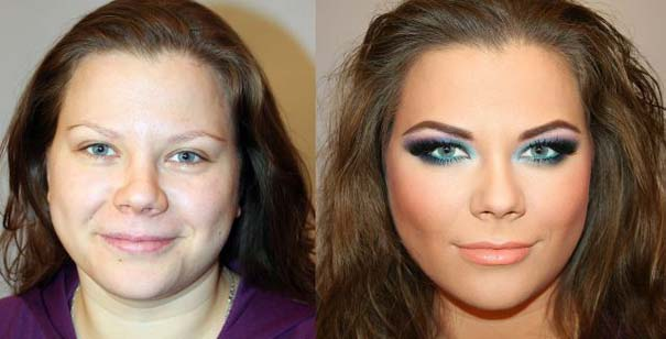Γυναίκες με / χωρίς μακιγιάζ (19)