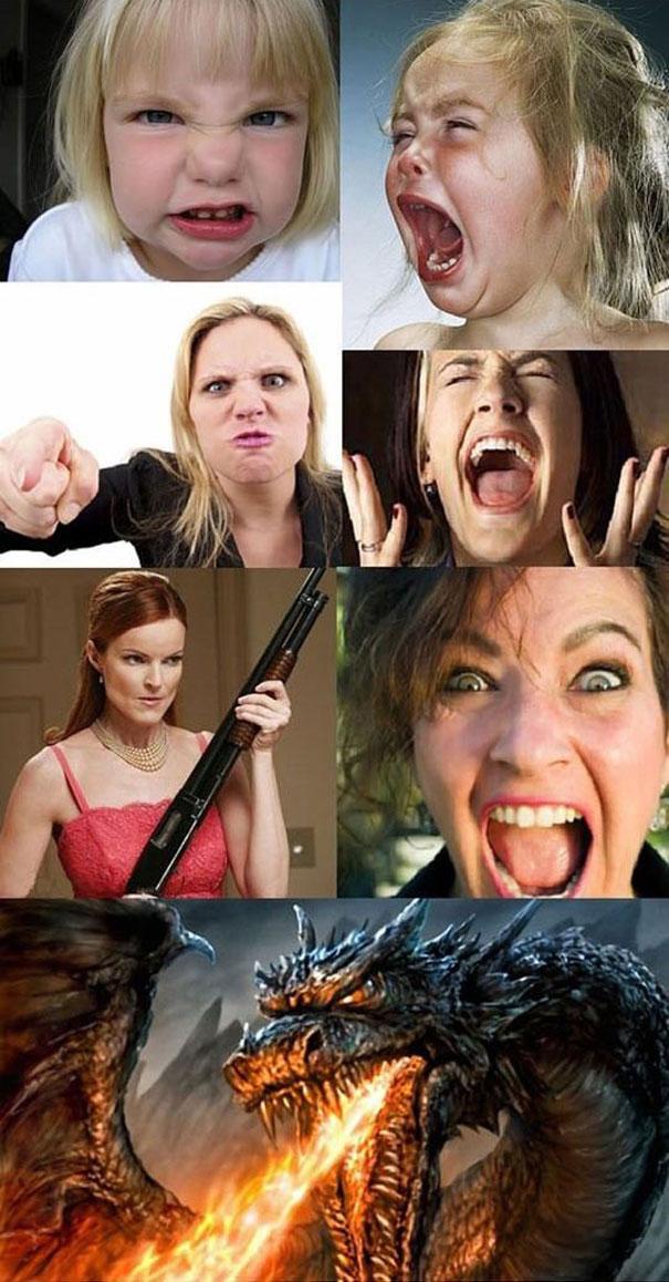 Γυναίκες πριν και μετά την περίοδο... (4)