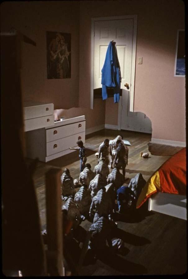 Φωτογραφίες από τα γυρίσματα διάσημων ταινιών τρόμου (9)