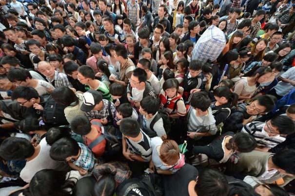 Δείτε τι γίνεται στα «ΚΤΕΛ» της Κίνας σε περίοδο διακοπών (2)