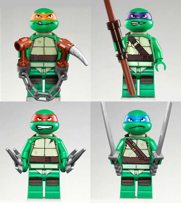Νέα συλλογή LEGO με τα Χελωνονιντζάκια (1)