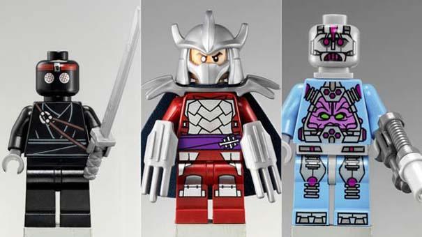 Νέα συλλογή LEGO με τα Χελωνονιντζάκια (2)