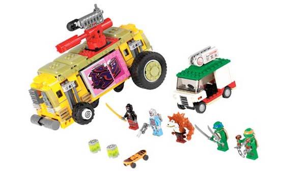 Νέα συλλογή LEGO με τα Χελωνονιντζάκια (4)