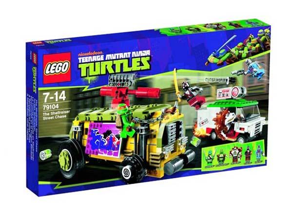 Νέα συλλογή LEGO με τα Χελωνονιντζάκια (5)
