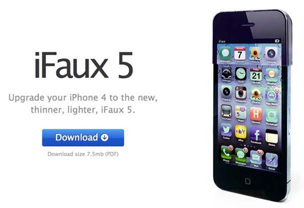 Μετατρέψτε το iPhone4/4S σε iPhone 5 με το iFaux (1)