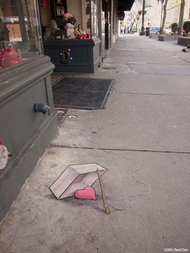 Μοναδική τέχνη του δρόμου από τον David Zinn (8)