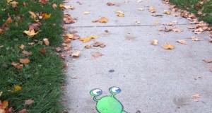 Μοναδική τέχνη του δρόμου από τον David Zinn