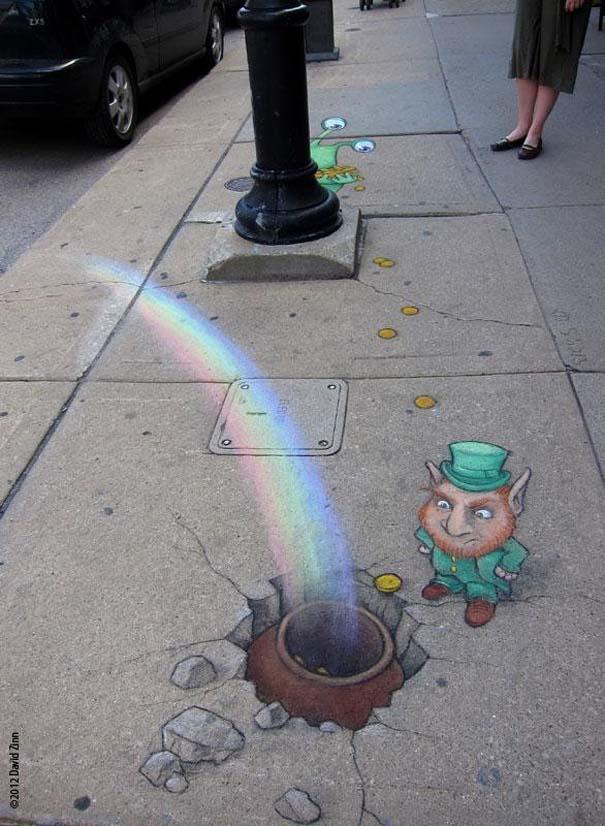 Μοναδική τέχνη του δρόμου από τον David Zinn (11)