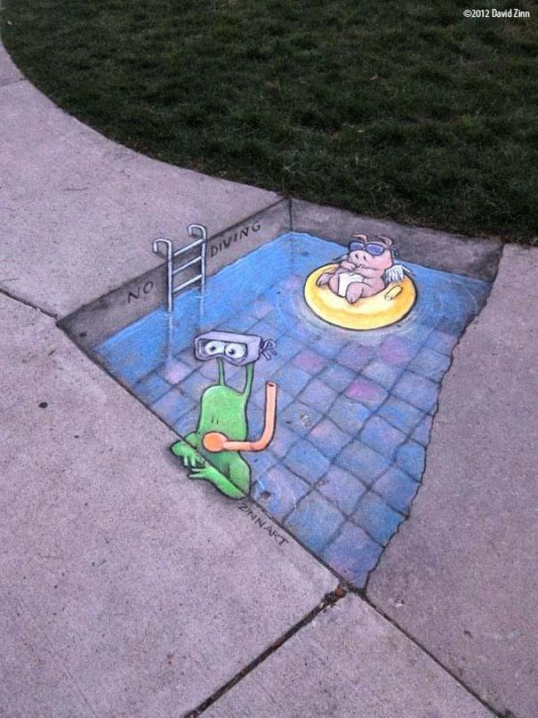 Μοναδική τέχνη του δρόμου από τον David Zinn (13)