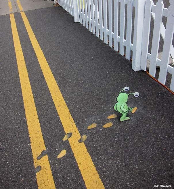 Μοναδική τέχνη του δρόμου από τον David Zinn (14)