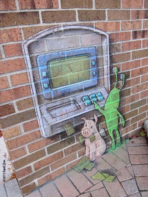 Μοναδική τέχνη του δρόμου από τον David Zinn (15)