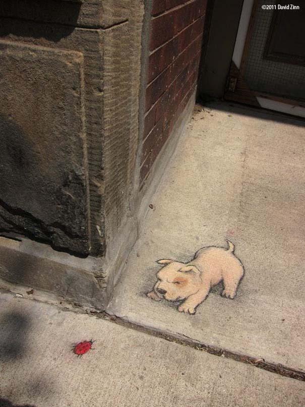Μοναδική τέχνη του δρόμου από τον David Zinn (18)
