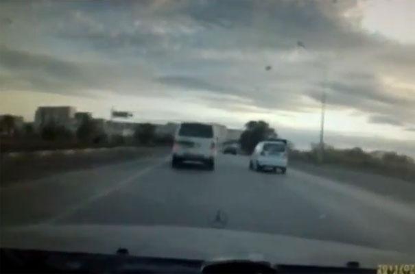 Ο Χάρος βγήκε παγανιά: Οδηγός προκαλεί διαδοχικά ατυχήματα