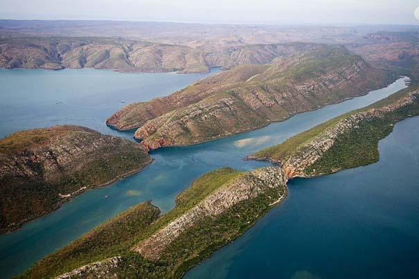 Οριζόντιοι καταρράκτες στο Talbot Bay της Αυστραλίας (7)