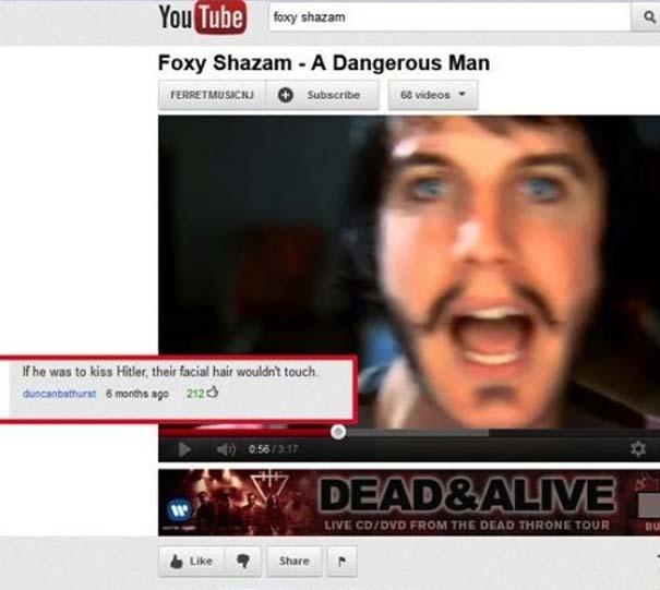 Παράξενα & ξεκαρδιστικά σχόλια στο YouTube (21)