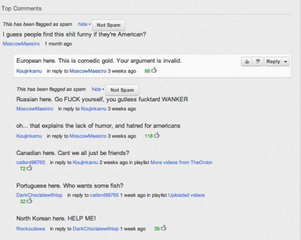 Παράξενα & ξεκαρδιστικά σχόλια στο YouTube (23)
