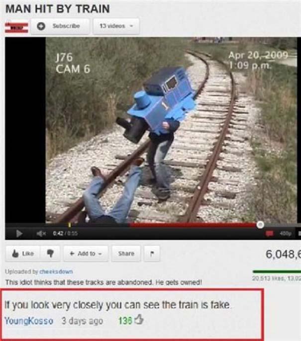 Παράξενα & ξεκαρδιστικά σχόλια στο YouTube (26)