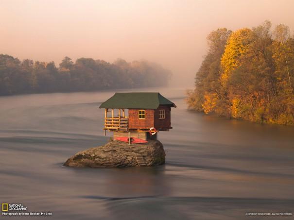 Το μικρό σπίτι στο ποτάμι | Φωτογραφία της ημέρας