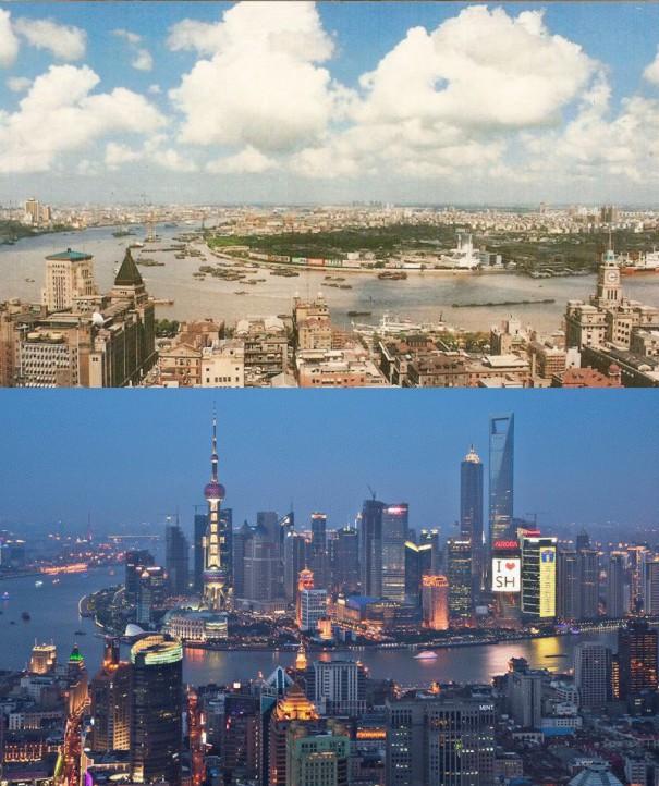 Η μεταμόρφωση μιας πόλης σε 22 χρόνια | Φωτογραφία της ημέρας