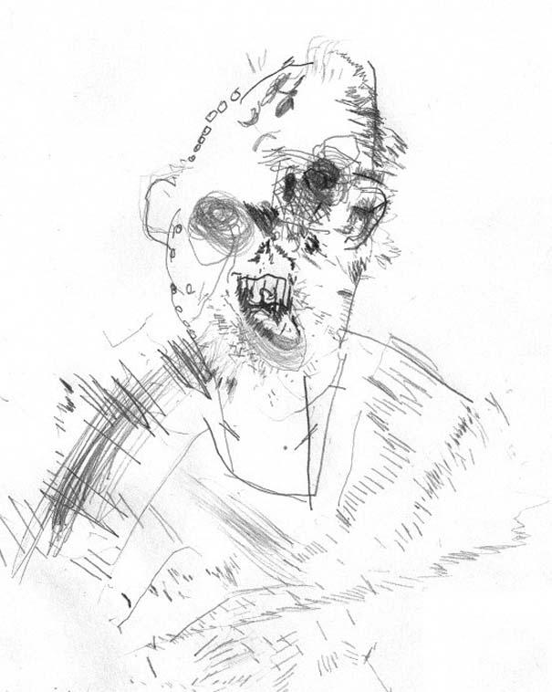 Ζωγραφίζει πορτραίτα του με τρελά αποτελέσματα (1)
