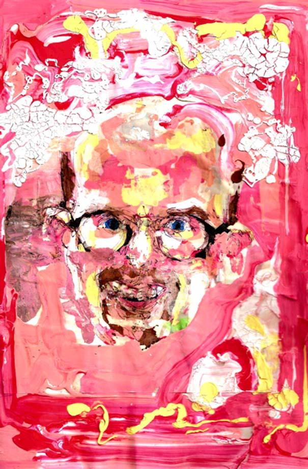 Ζωγραφίζει πορτραίτα του με τρελά αποτελέσματα (4)