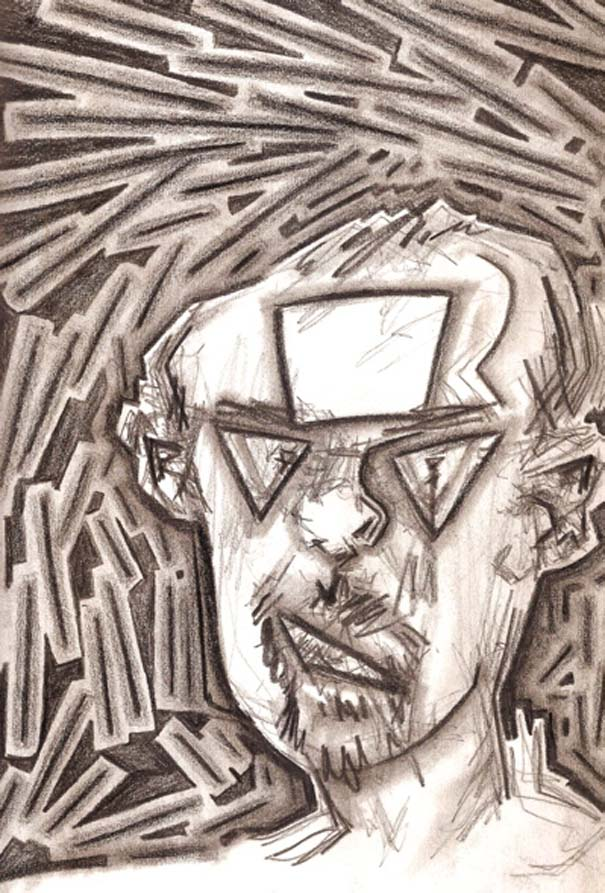 Ζωγραφίζει πορτραίτα του με τρελά αποτελέσματα (5)