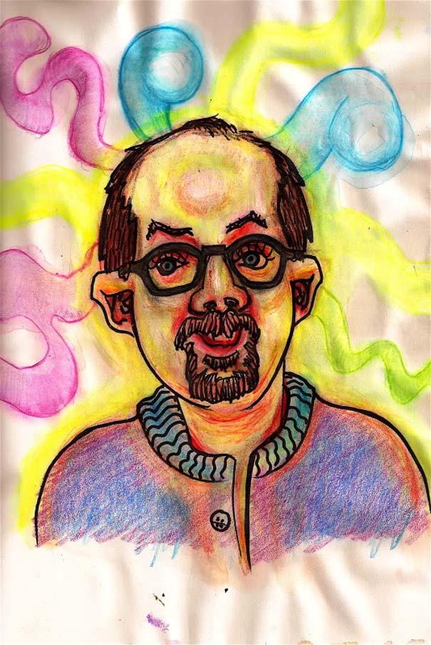 Ζωγραφίζει πορτραίτα του με τρελά αποτελέσματα (6)
