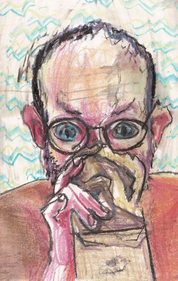 Ζωγραφίζει πορτραίτα του με τρελά αποτελέσματα (7)