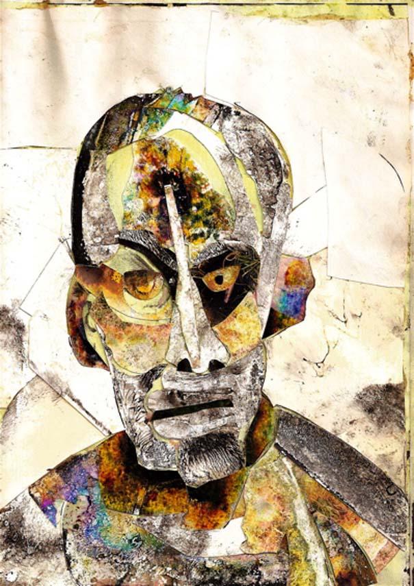 Ζωγραφίζει πορτραίτα του με τρελά αποτελέσματα (10)