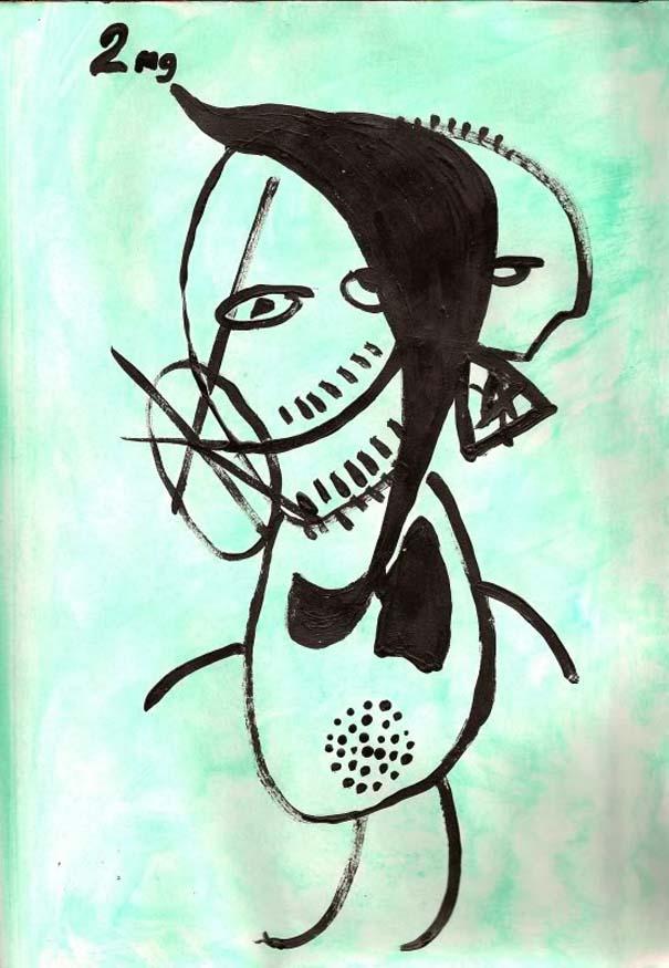 Ζωγραφίζει πορτραίτα του με τρελά αποτελέσματα (12)